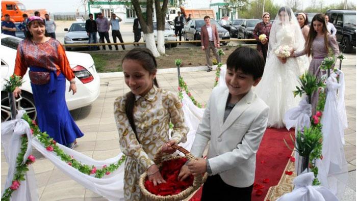 Традиционная свадьба в Чечне