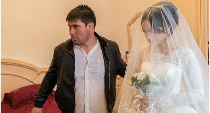 Невесту забирают после уплаты урду
