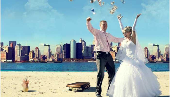Оригинальная свадьба: путешествие