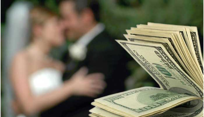 Деньги на организацию свадьбы