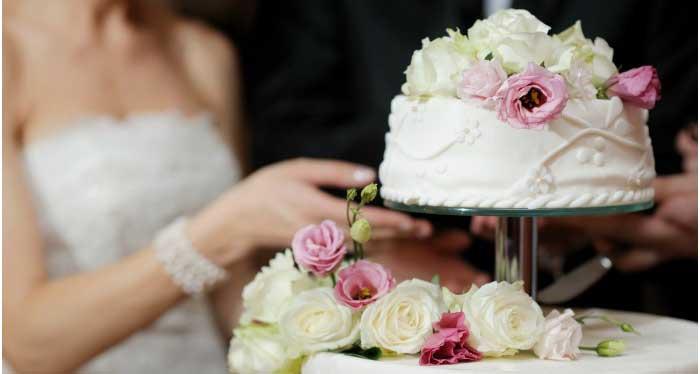 Красивый торт к свадьбе