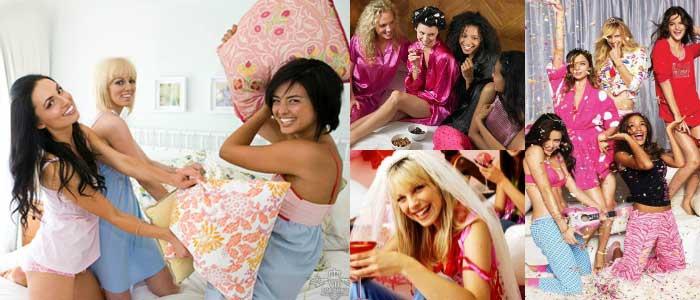 Пижамная вечеринка – веселое проведение девичника