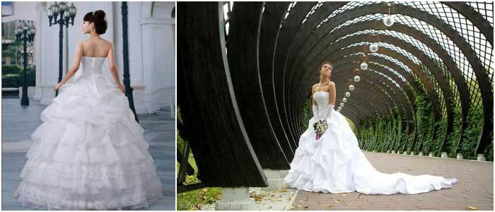 Платье в стиле Голливуд для невесты