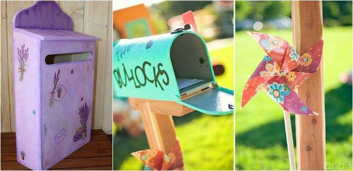 Оригинальное решение: ларец почтовый ящик