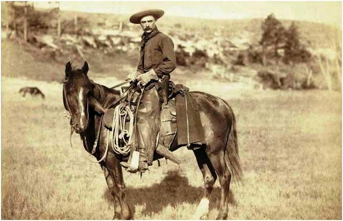 Фото настоящего ковбоя