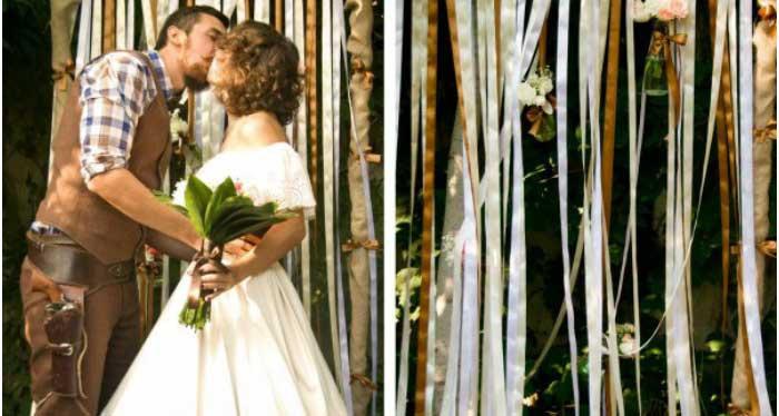 Наряды для ковбойской свадьбы