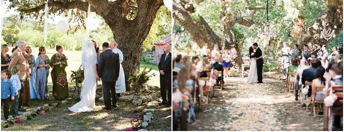 Ковбойская свадьба на территории загородного ранчо