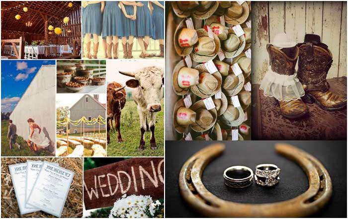 Красивые элементы ковбойского декора