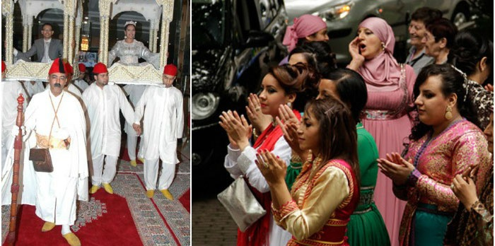 Традиционная марокканская свадьба