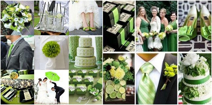 Зеленый цвет на ирландском празднике