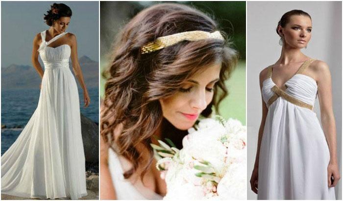 Праздничный образ греческой невесты