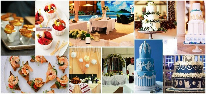 Разнообразное меню для греческой свадьбы