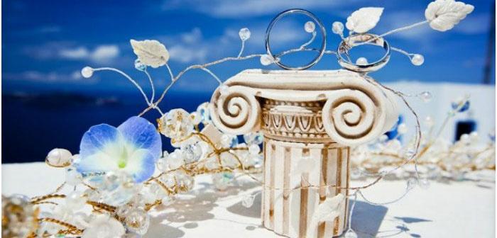 Детали греческого оформления помещения