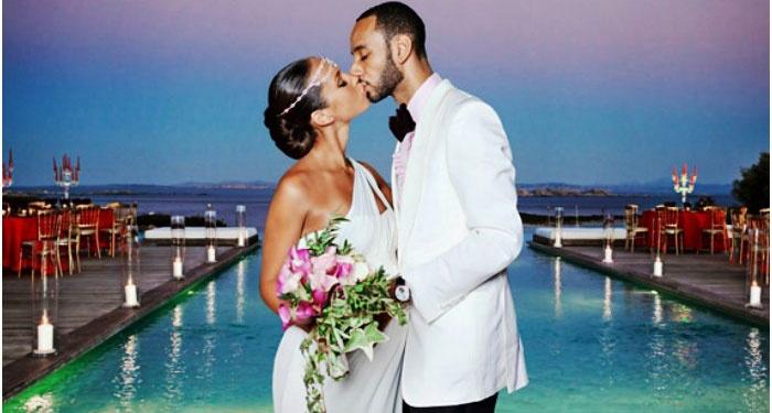 Выездная регистрация брака в греческом стиле