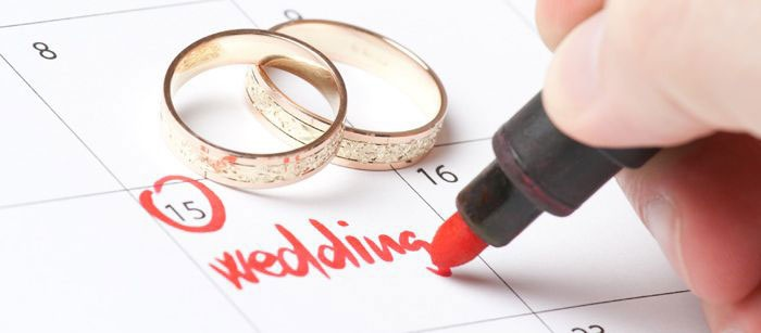 Неблагоприятные дни для бракосочетания
