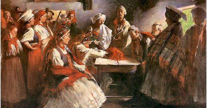 Старинное русское сватовство