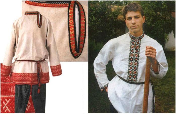 Мужской народный свадебный костюм на русскую свадьбу