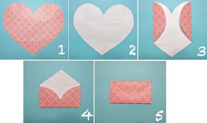 Делаем бумажный конверт самостоятельно