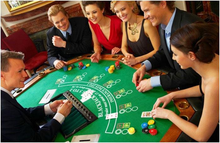 Веселое лас-вегасское казино для гостей