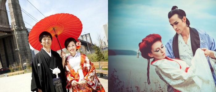 Традиционные японские свадебные наряды