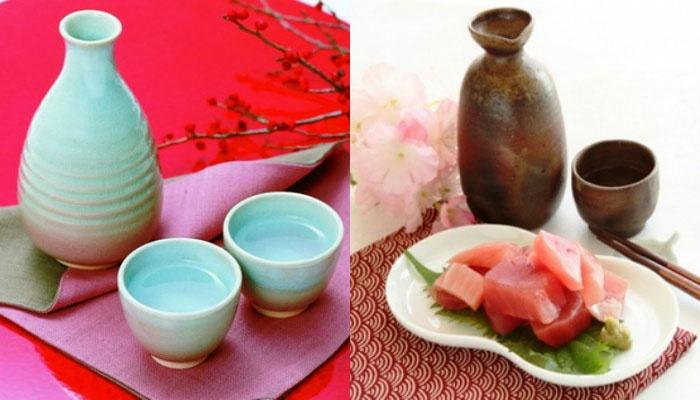 Саке – традиционный напиток на японских свадьбах