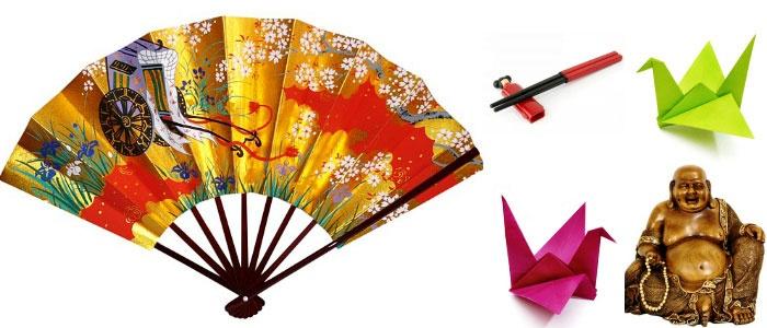 Варианты подарков для гостей в японском стиле