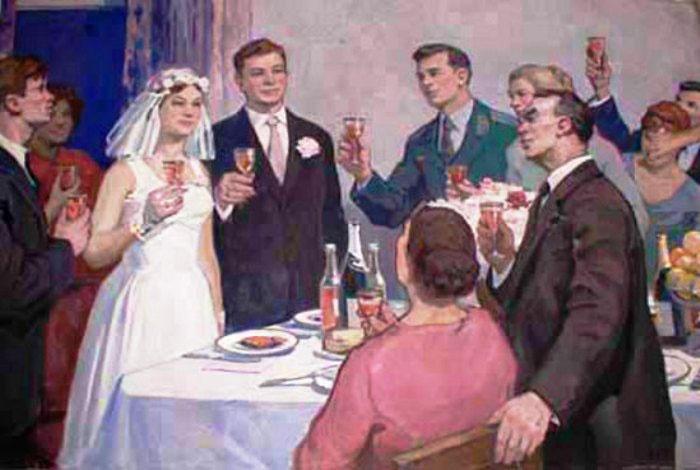 Тосты на свадьбе за столом