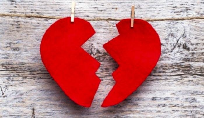 Свадебный застольный конкурс – склей сердце