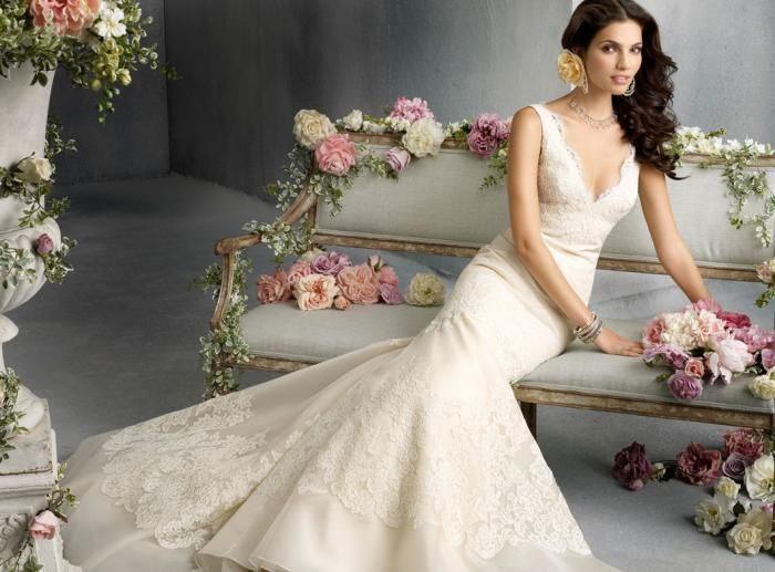 Идеи свадебных платьев ivory