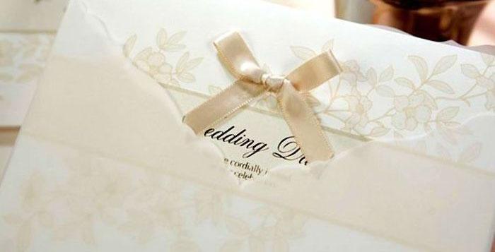 Пригласительные на свадьбу ivory
