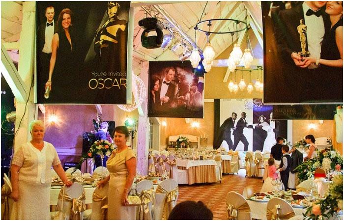 Ресторан для проведения свадьбы стиля кинозвезд