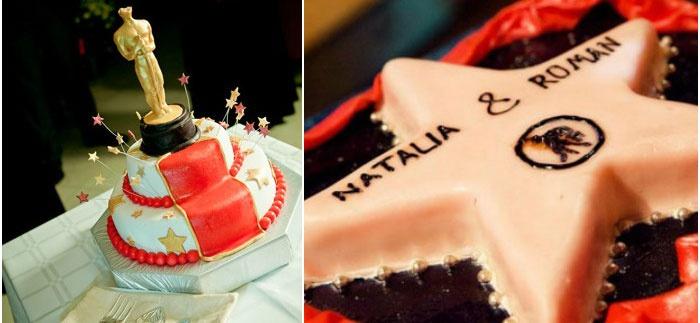 Торт для свадьбы-кинопремии