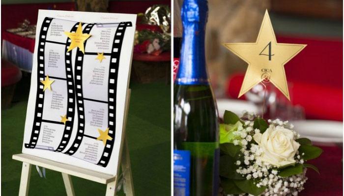 Детали праздничного декора свадьбы Оскар