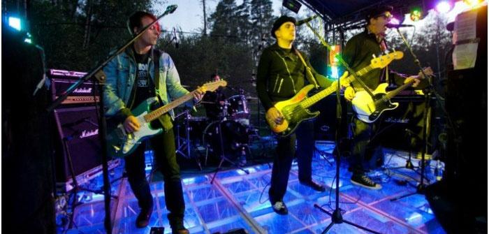 Выступление рок-группы на свадьбе