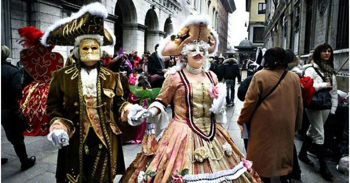 Великолепный карнавал Венеции