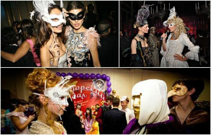 Образы венецианского карнавала