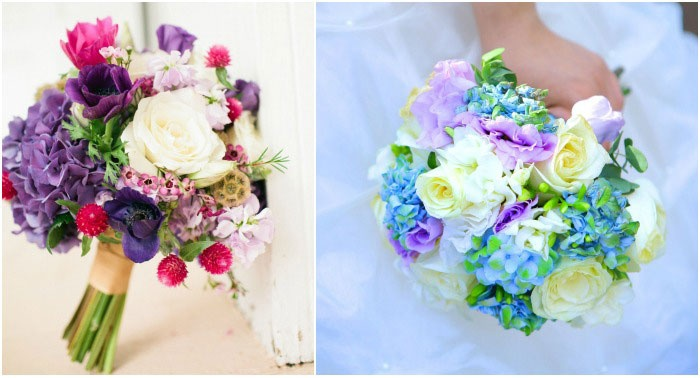 Яркий разноцветный аксессуар для свадьбы