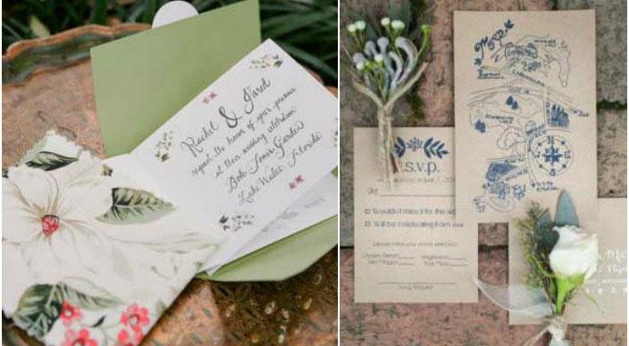 Красивые пригласительные открытки на свадьбу