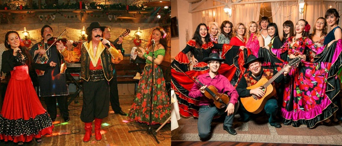 Музыканты – обязательный элемент цыганской свадьбы