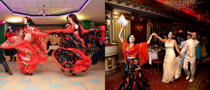 Первый танец на цыганской свадьбе
