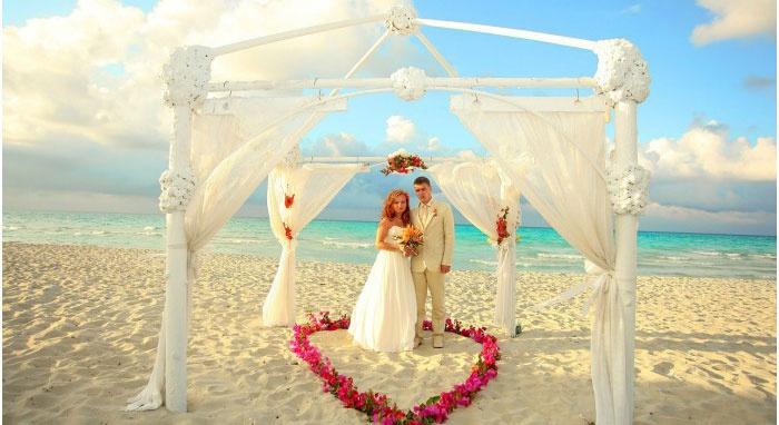 Великолепная мальдивская свадьба
