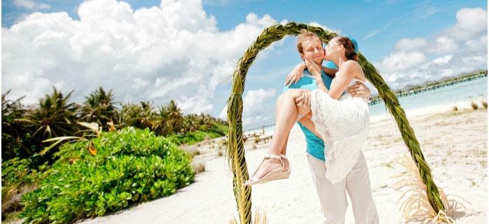 Необитаемый остров Мальдив для свадьбы