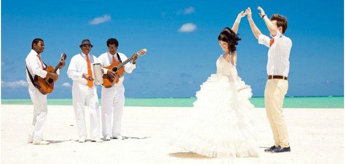 Музыканты для мальдивской свадьбы