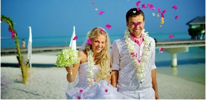 Великолепная символическая церемония бракосочетания