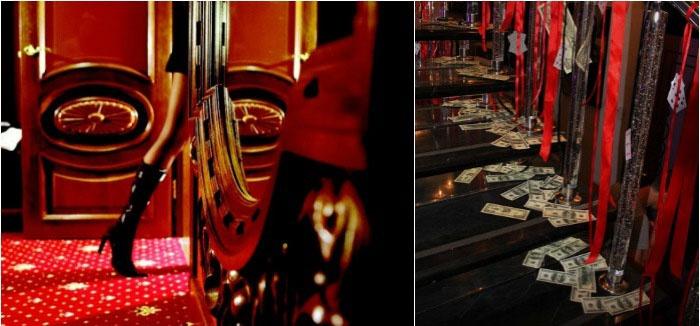 Цвета подпольного казино для Чикагской свадьбы