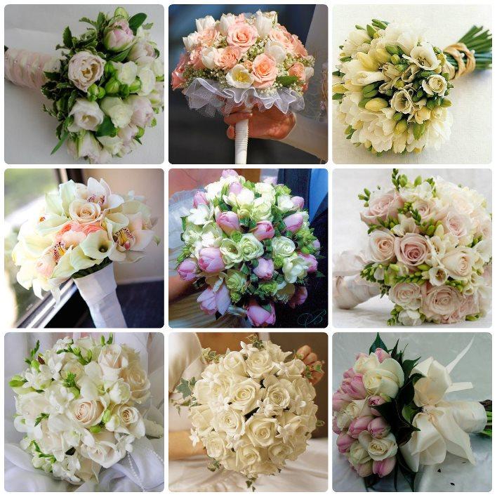 Букет из тюльпанов свадебный 13