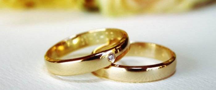 Празднование юбилея свадьбы (50 лет): кольца