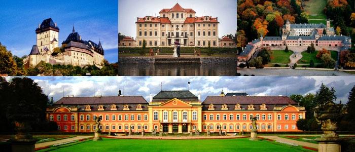 Чешские замки для проведения сваде