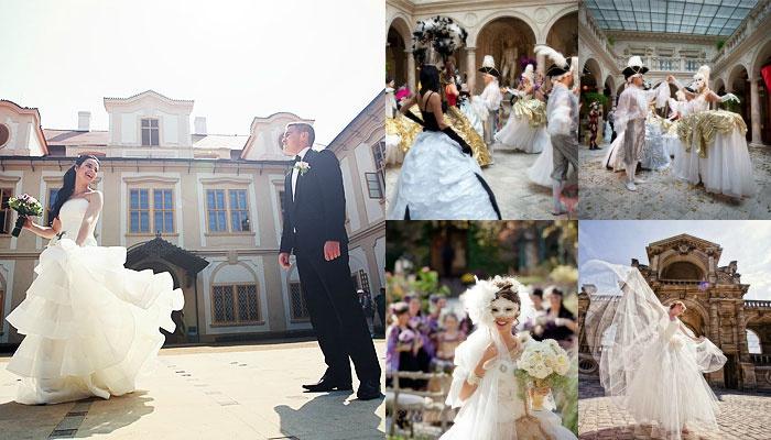 Сценарий свадьбы в стиле королевский бал