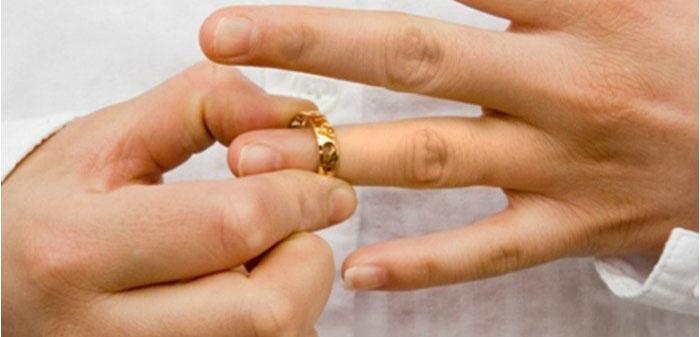 Снятие обручального кольца